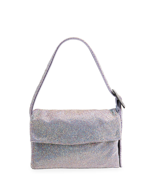 Vitti La Mignon Rhinestone Shoulder Bag