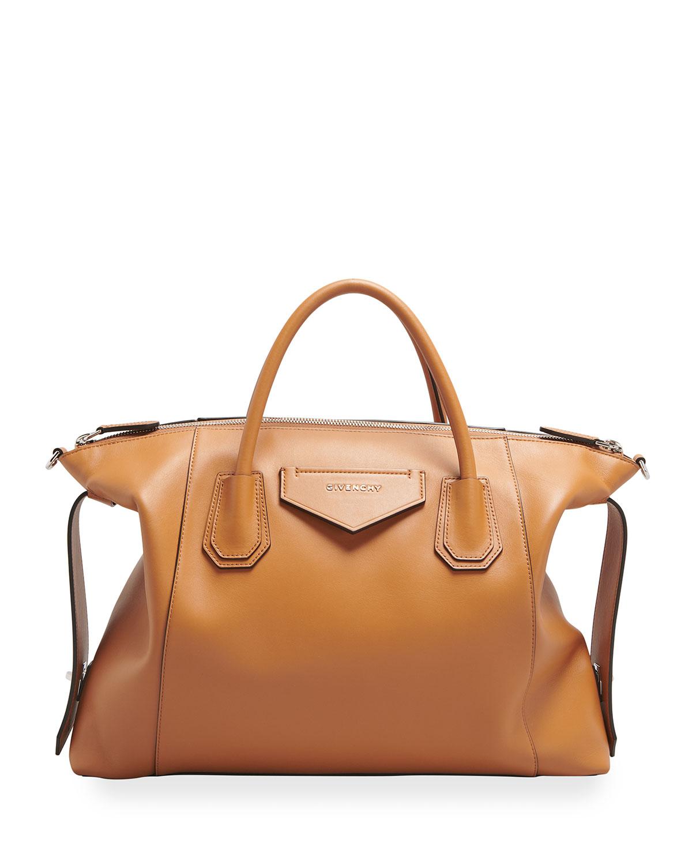 Givenchy MEDIUM ANTIGONA SOFT SATCHEL BAG IN CALFSKIN