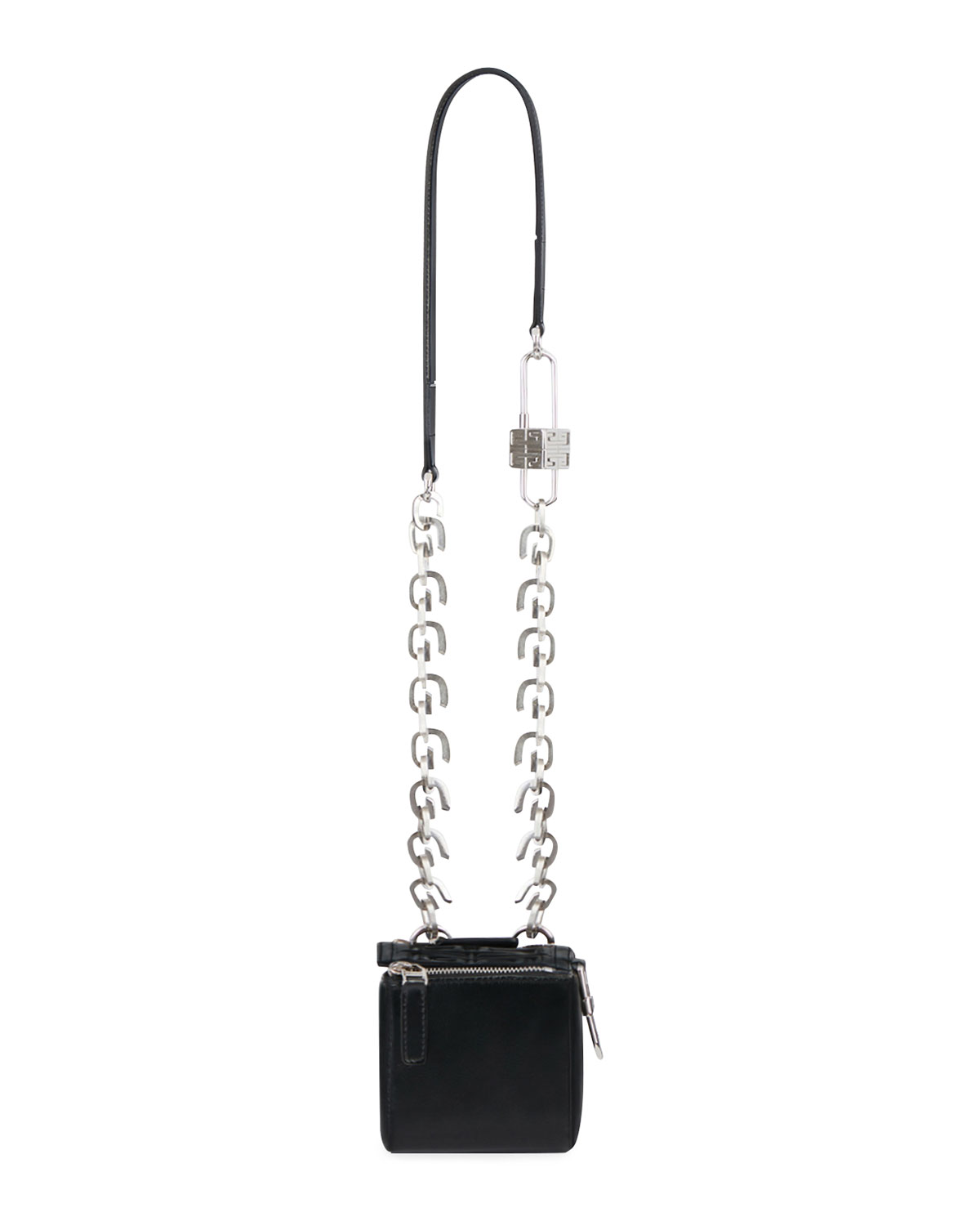 Givenchy MINI PANDORA CUBE POUCH IN SHINY LEATHER