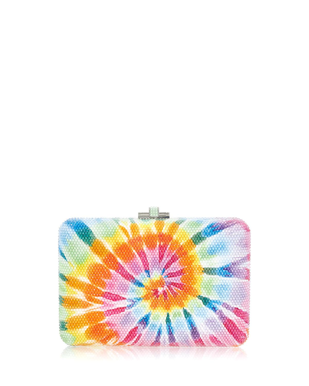 Jerry Tie Dye Crystal Clutch Bag