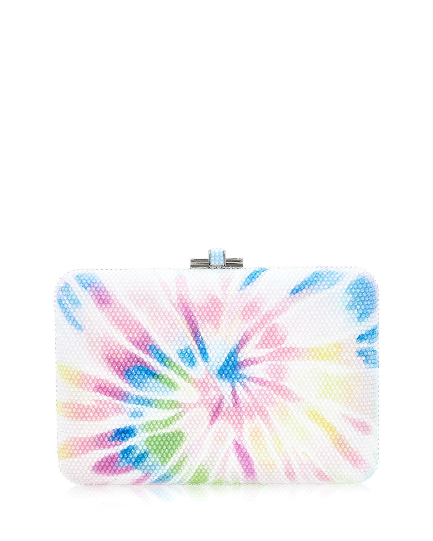 Slim Slide Trey Tie Dye Crystal Clutch Bag