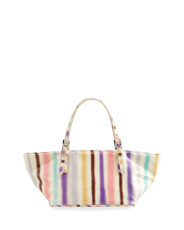 Lulu Spray Paint Shoulder Tote Bag
