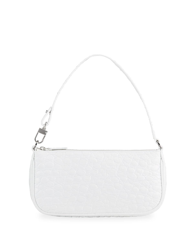 Rachel Moc-Croc Shoulder Bag