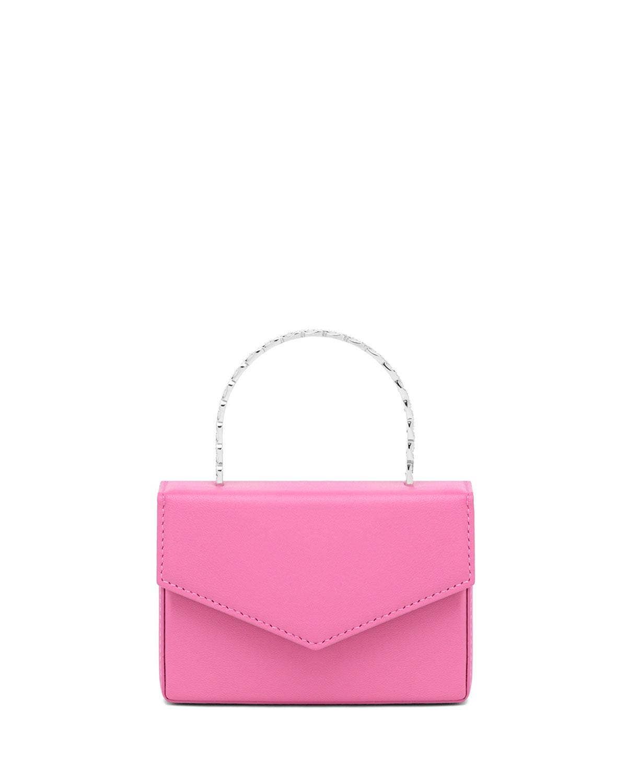 Super Amini Pernille Embellished Chain Top-Handle Bag