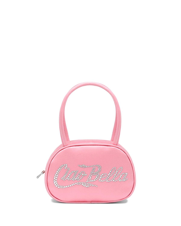 Ciao Bella Embellished Satin Top-Handle Bag