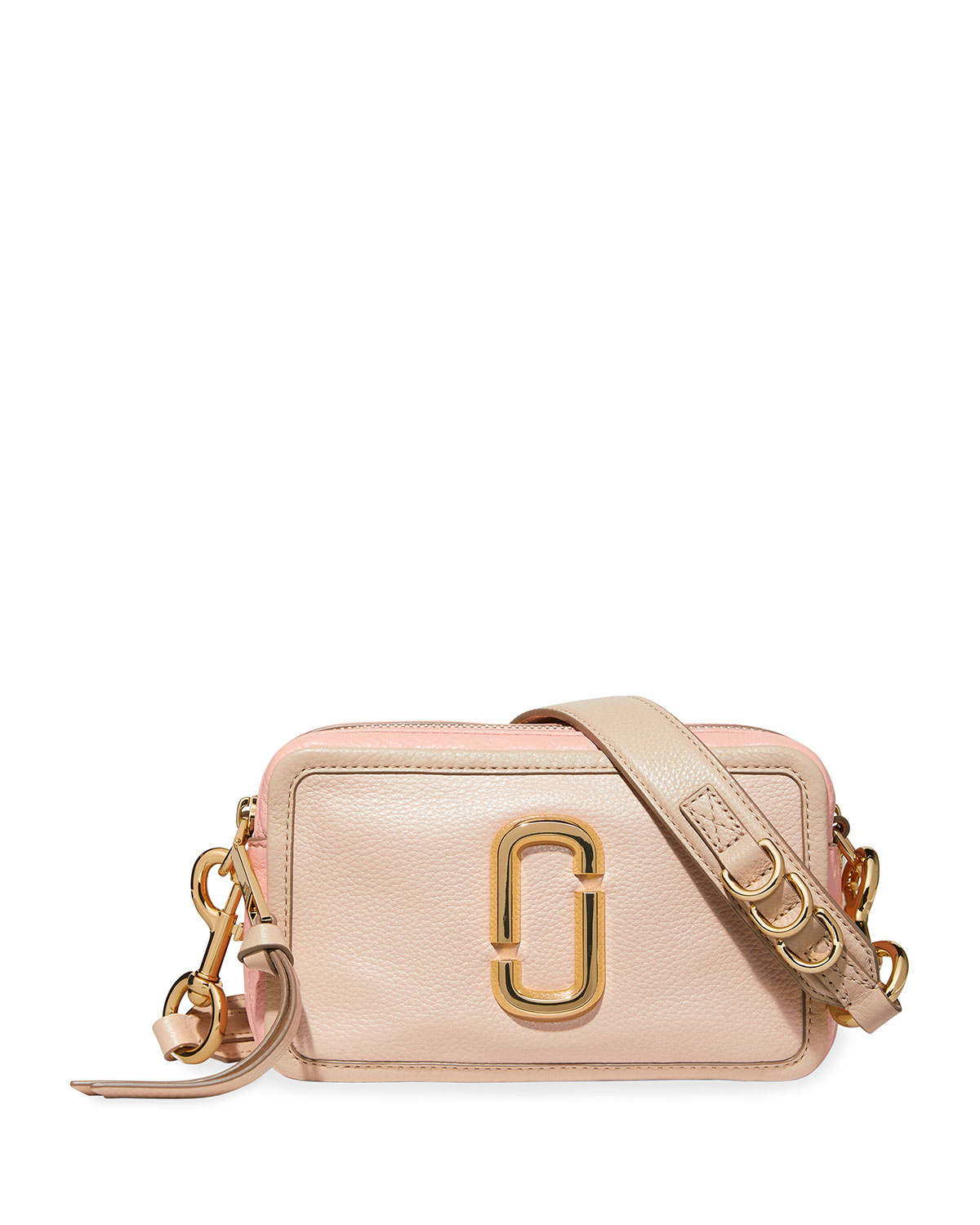 The Marc Jacobs Leathers THE SNAPSHOT 21 LEATHER CROSSBODY BAG