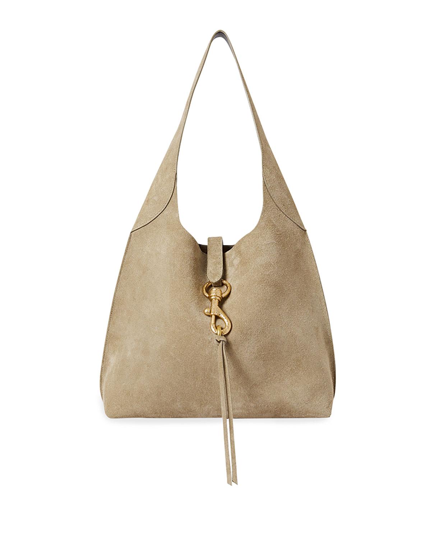 Rebecca Minkoff Hobo bags MEGAN SUEDE HOBO BAG