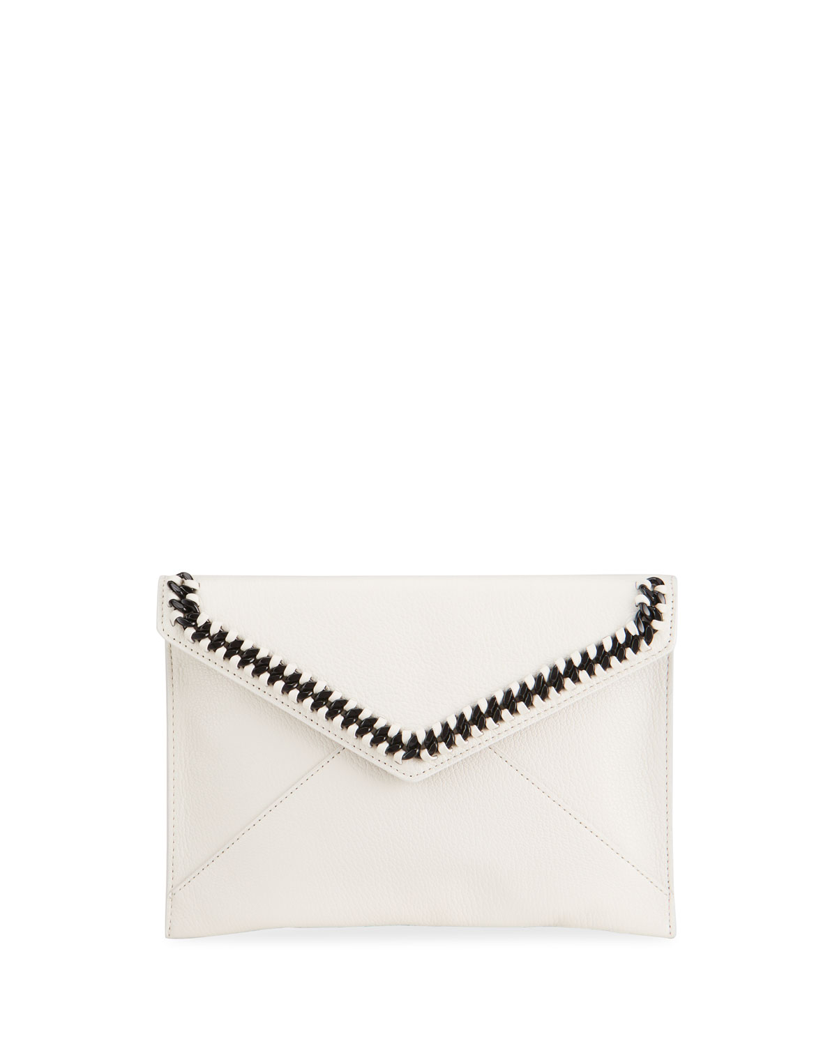 Rebecca Minkoff Leathers LEO CHAIN ENVELOP CLUTCH BAG