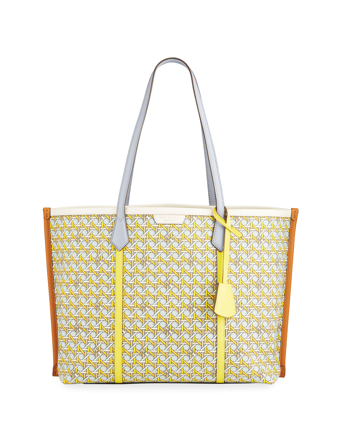Tory Burch Canvases PERRY PRINTED CANVAS TOTE BAG