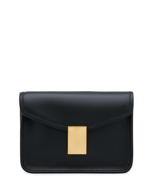 Luisa Leather Chain Shoulder Bag