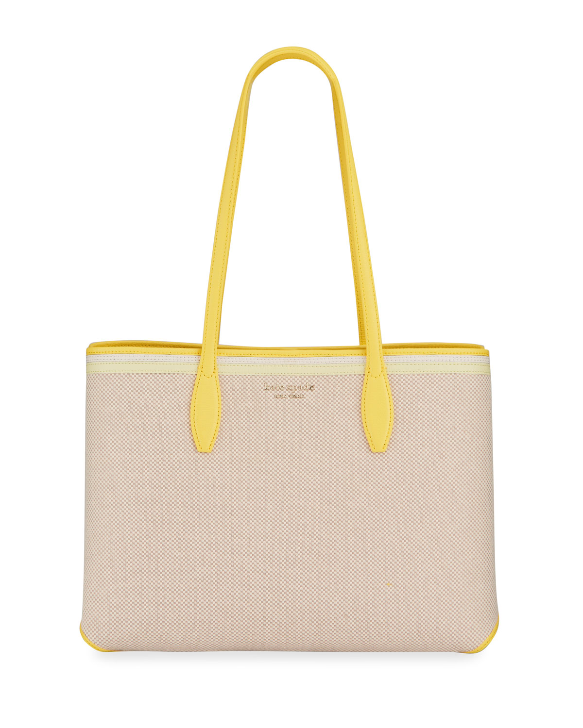 Kate Spade ALL DAY CANVAS LARGE SHOPPER TOTE BAG