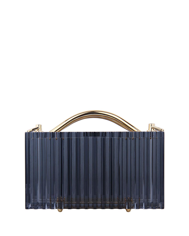 Philo Transparent Acrylic Top-Handle Bag