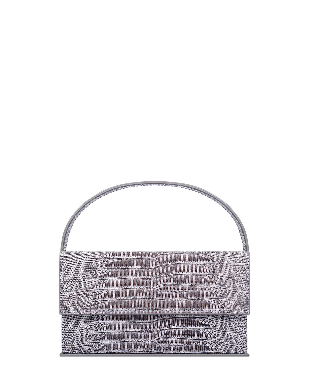 Ida Small Mock-Croc Top Handle Bag