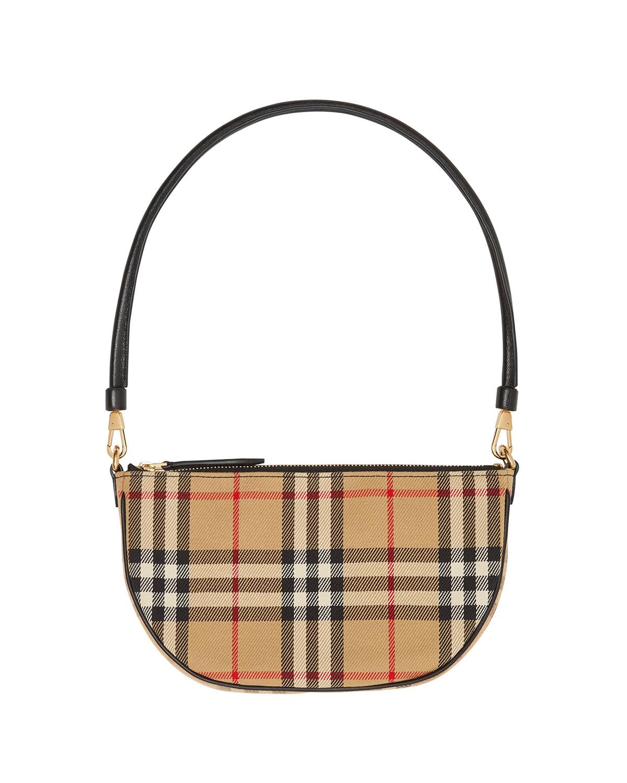 Olympia Vintage Check Slim Pouch Shoulder Bag
