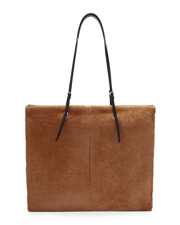 Holster Shearling Small Tote Bag