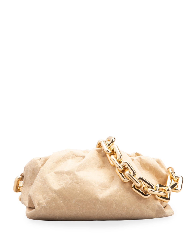 Pouch Paper Chain Clutch Bag