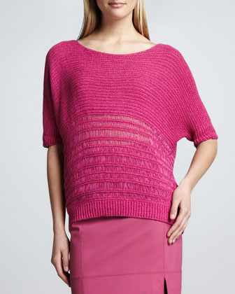 Camellia Scoop-Neck Sweater