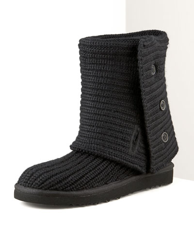 Crocheted Classic Shearling Boot