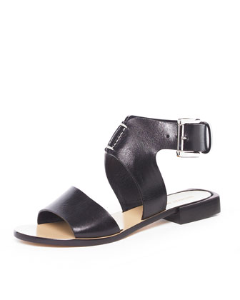 Ankle-Wrap Sandal