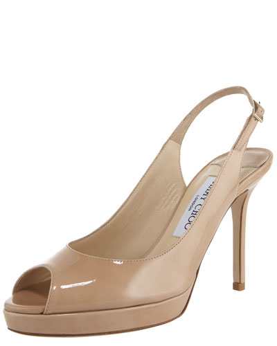 Nova Patent Platform Slingback Sandal