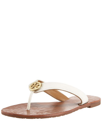 Thora Leather Thong Sandal