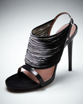 Degrade Thread Sandal