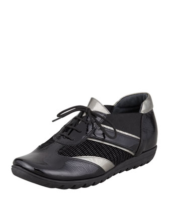 Jaxine Rubber-Sole Oxford
