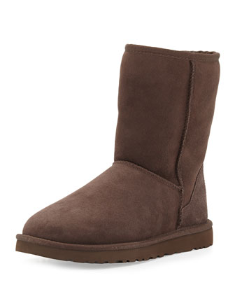 Short Boot, Chestnut