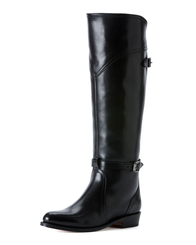 Dorado Polished Leather Riding Boot