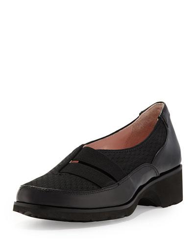 Tuuli Double-Strap Slip-On Sneaker, Black