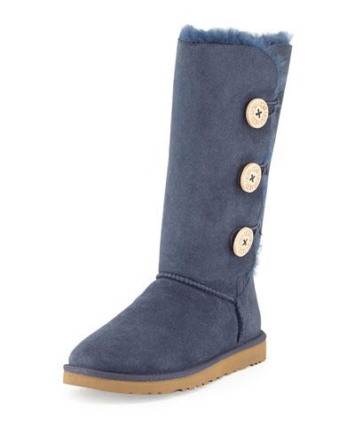 Bailey Button Tall Boot, Navy