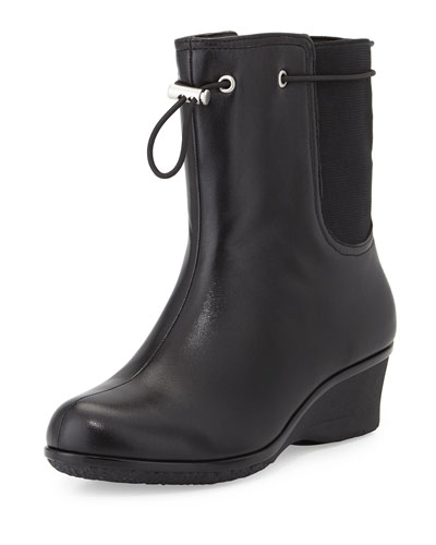 Amir All-Weather Leather Boot, Black