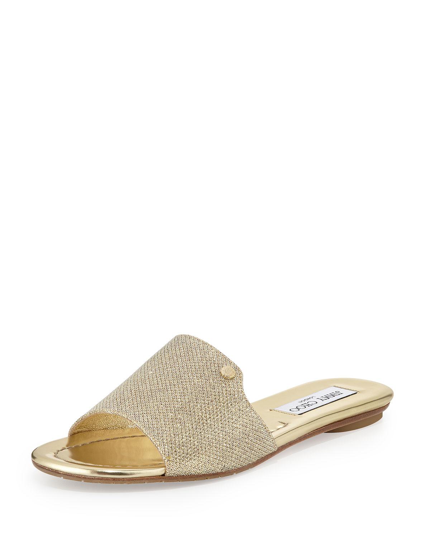 Nanda Fabric Sandal Slide Sandal