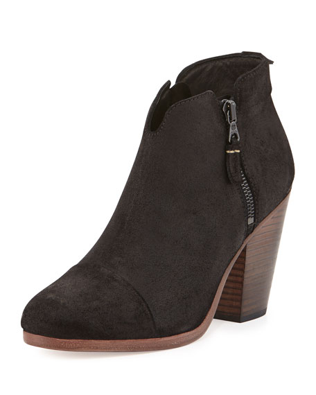 Rag & Bone Margot Leather Ankle Boots, Black