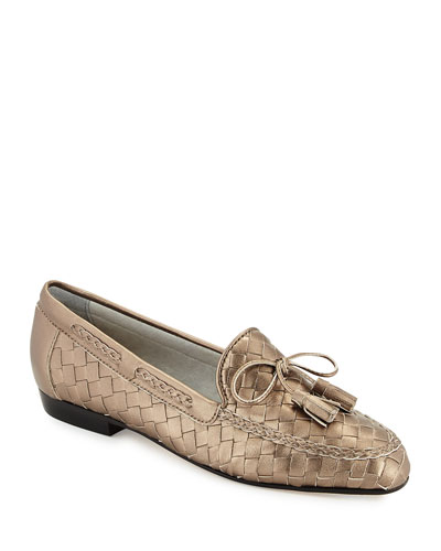 NICOLE WOVEN LOAFER