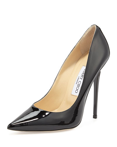 Anouk Patent Leather Pump, Nude