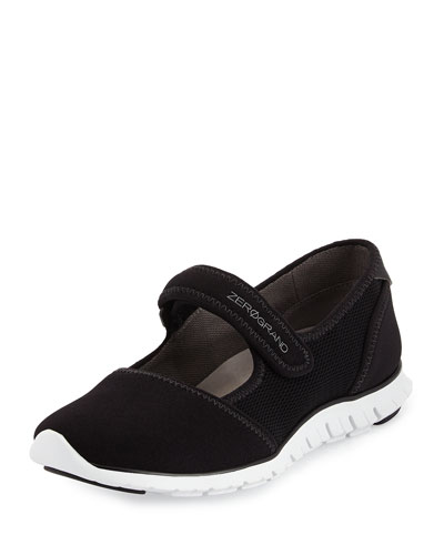 ZeroGrand Mary Jane Sneaker, Black