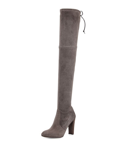 Highland Suede Over-The-Knee Boot, Londra