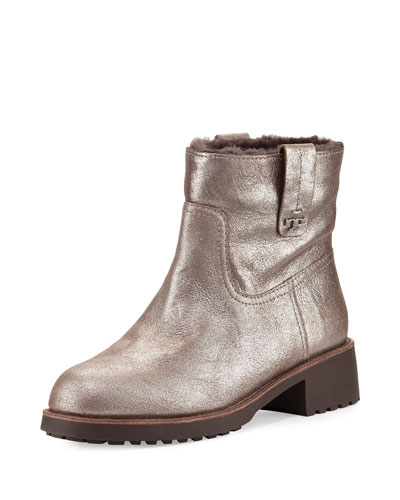 Wayland Fur-Lined Boot, Pewter