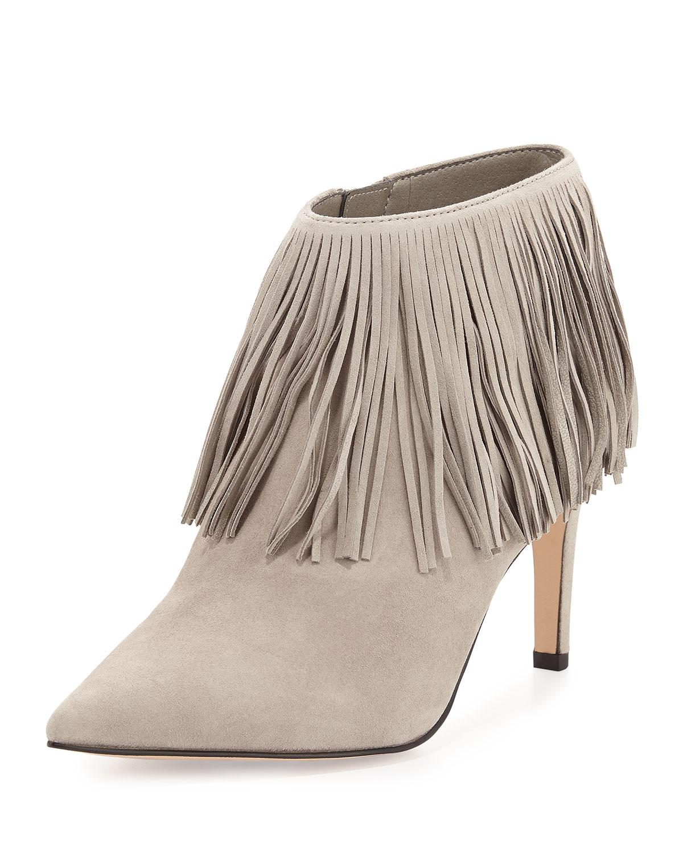 Kandice Fringe Ankle Boot, Winter Sky