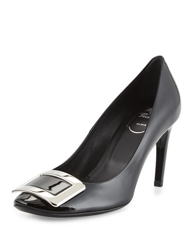 Belle de Nuit Patent Pump, Black