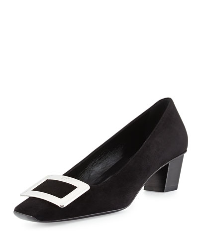 Decollette Belle Vivier Pump, Black