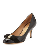 Erice Patent Bow Pump, Black