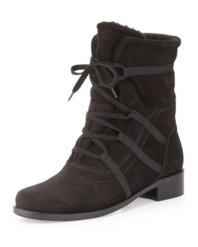 Corinne Waterproof Mid-Calf Boot, Black