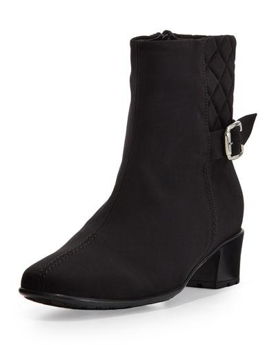 Yannik Waterproof Ankle Boot, Black