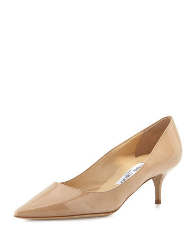Aza Patent 55mm Pump, Nude