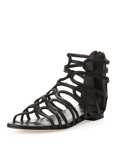 Happyloops Leather Caged Sandal