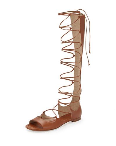 Birdie Tall Gladiator Sandal, Luggage