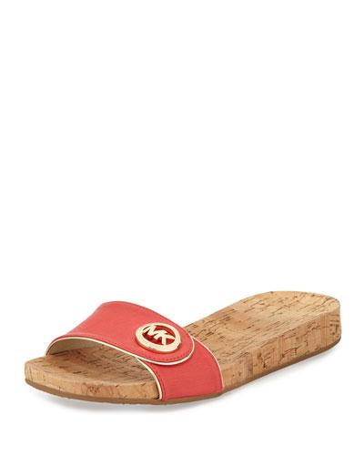 Vernice Demi-Wedge Sandal