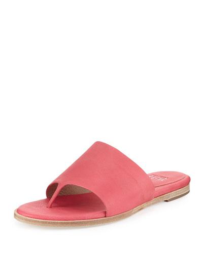 Edge Leather Thong Sandal, Freesia